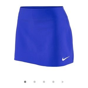 Nike Womens Court Pure Tennis Skirt Blue Size M